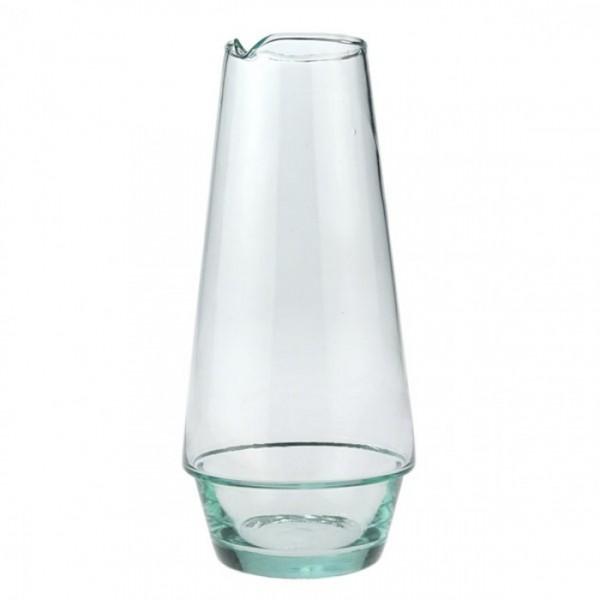 Karaffe aus Recyclingglas, 1 Liter