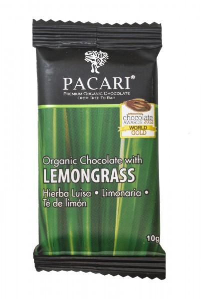 Pacari Schokolade Zitronengrass Lemongrass