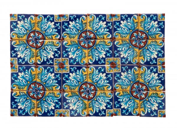 Fliesen Set 5x5cm 24 Stück, Romanesco