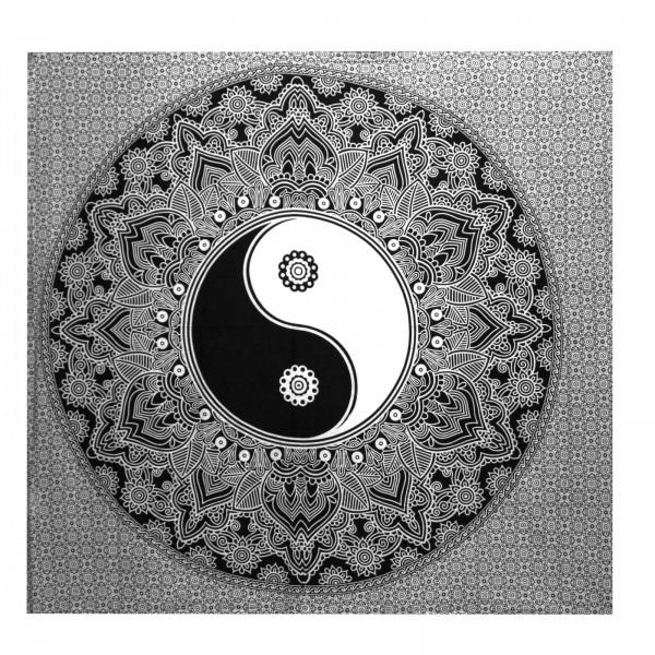 Wandtuch Yin & Yang, Baumwolle