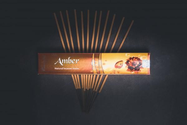 Aromatika vedische Räucherstäbchen, Amber