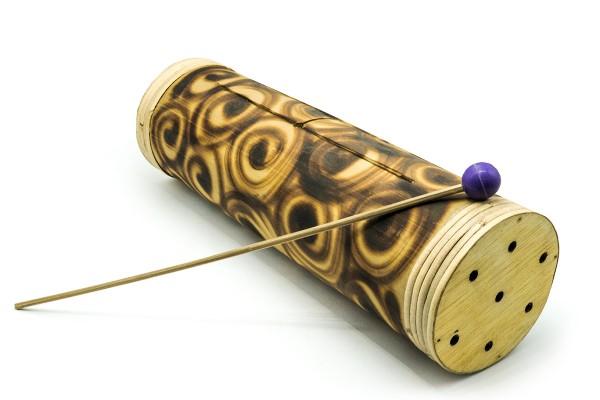 Schlitztrommel, Bambus