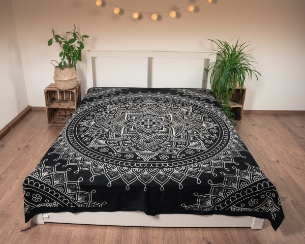 Wandtuch Lotusblume, Baumwolle