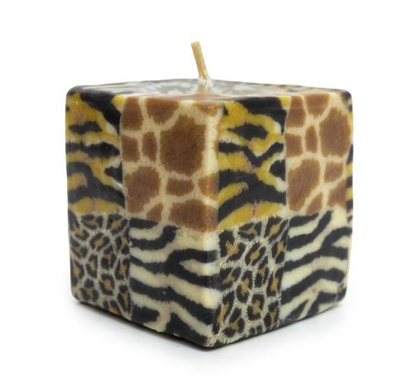 Kerze Zebra