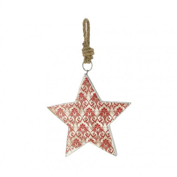 Dekoanhänger Stern, Ornamente
