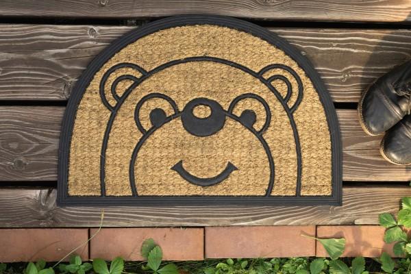Fußmatte, Bär