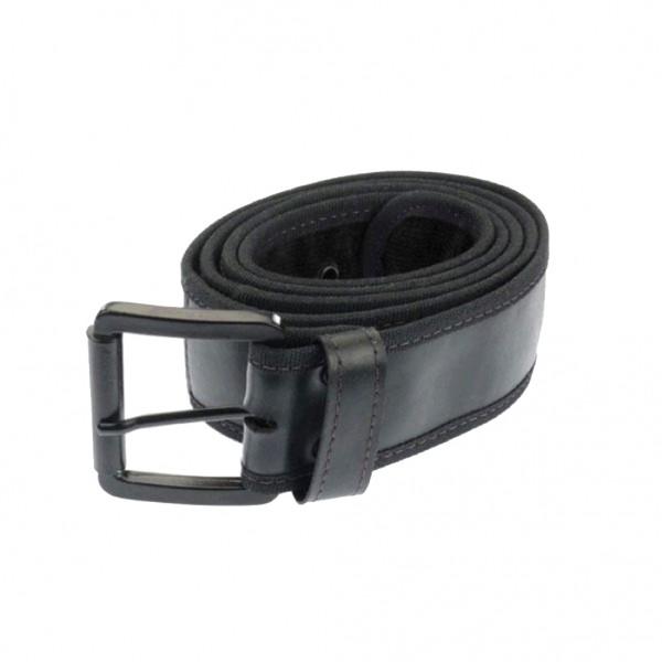Gürtel aus recyceltem LKW-Schlauch, schwarz