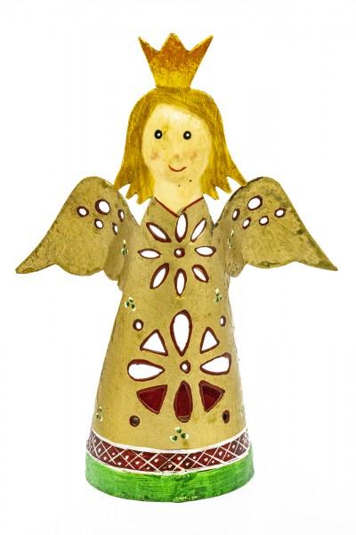 teelichthalter Engel gold