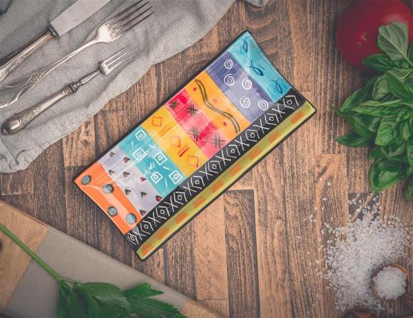 Servierplatte Multicoloured, 26cm