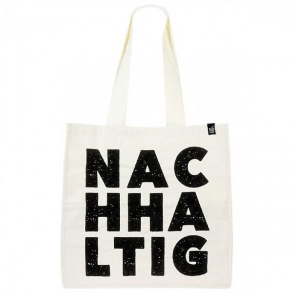 """Große Stofftasche """"NACHHALTIG"""""""