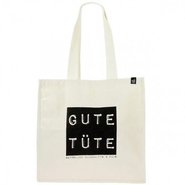 """Große Stofftasche """" GUTE TÜTE"""" mit Henkel"""