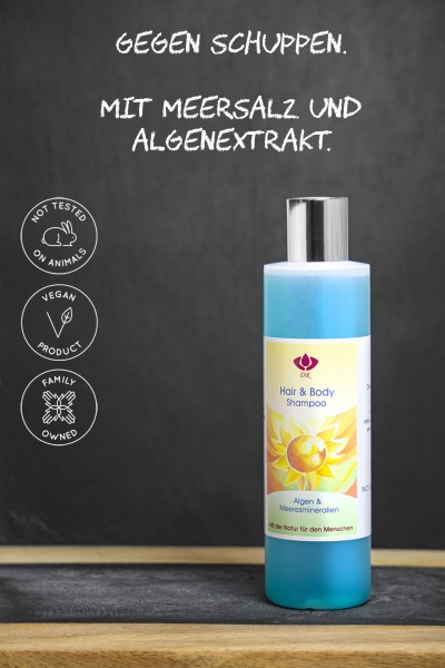 Dorith Kosmetik Hair & Body Shampoo Algen & Meeresmineralien, 250ml