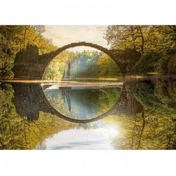 Grußkarte Rakotzbrücke