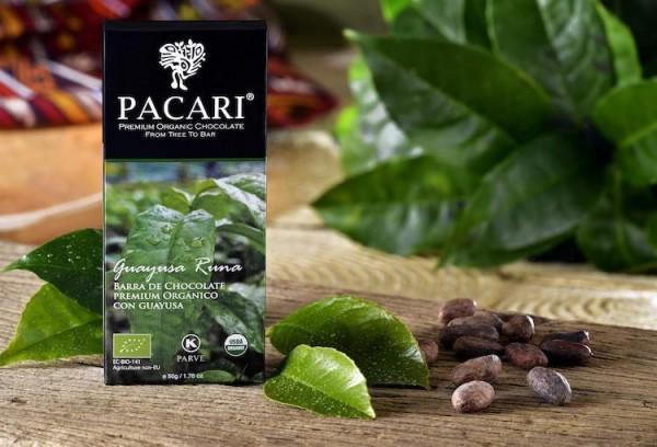 Pacari Bio Schokolade Guayusa
