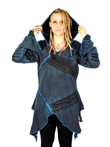 Kleid Stonewhashed, blau