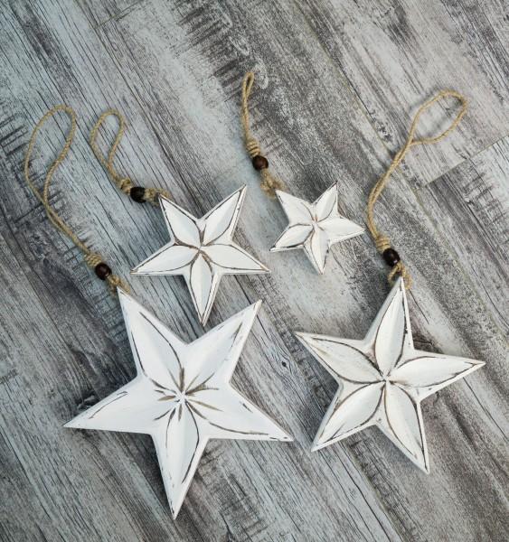Stern aus Mangoholz