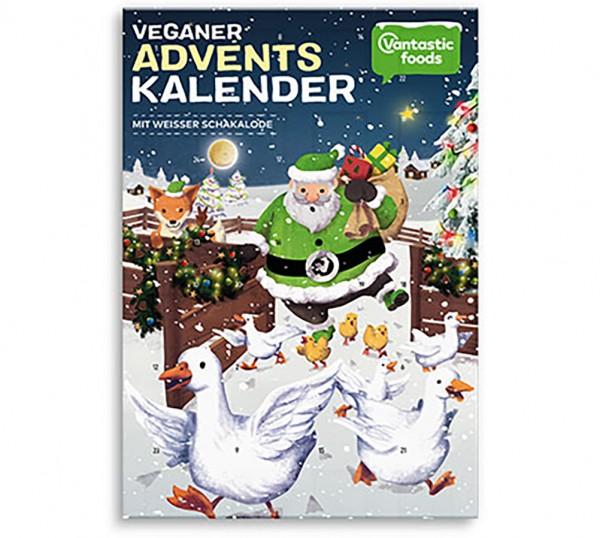 Vantastic Foods Adventskalender weiße Schakalode, 150g