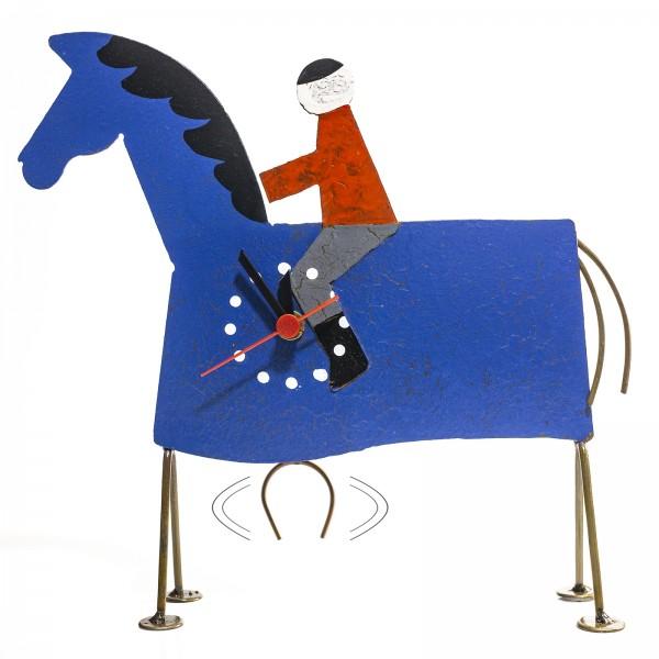 Pendeluhr Tischuhr Pferd