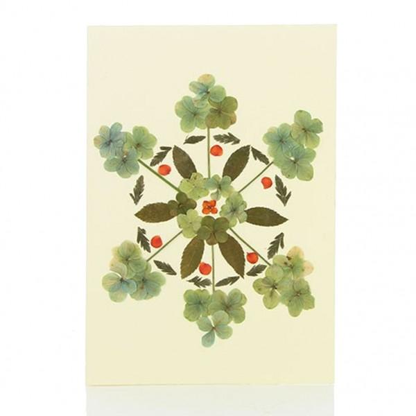 Grußkarte Wildblumen