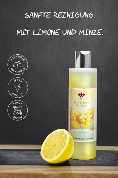 Dorith Kosmetik Hair & Body Shampoo Limone & Minze, 250ml