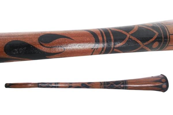 Didgeridoo Maori-Stil in F