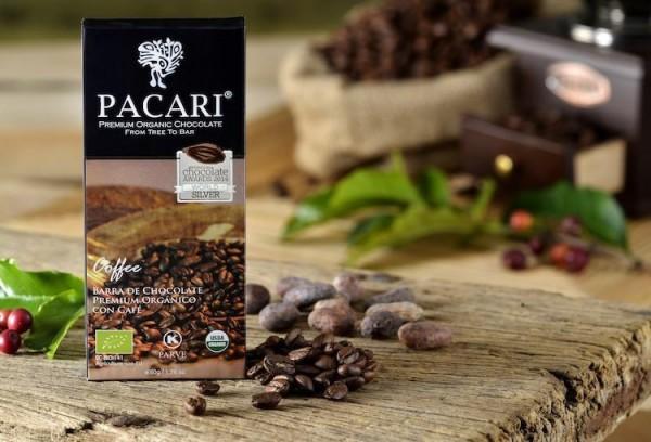 Pacari Bio Schokolade Coffee, 50g