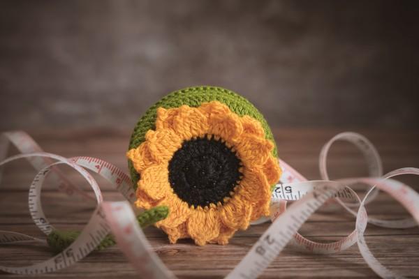 Maßband, Sonnenblume