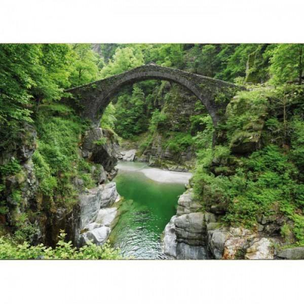 Grußkarte Brücke