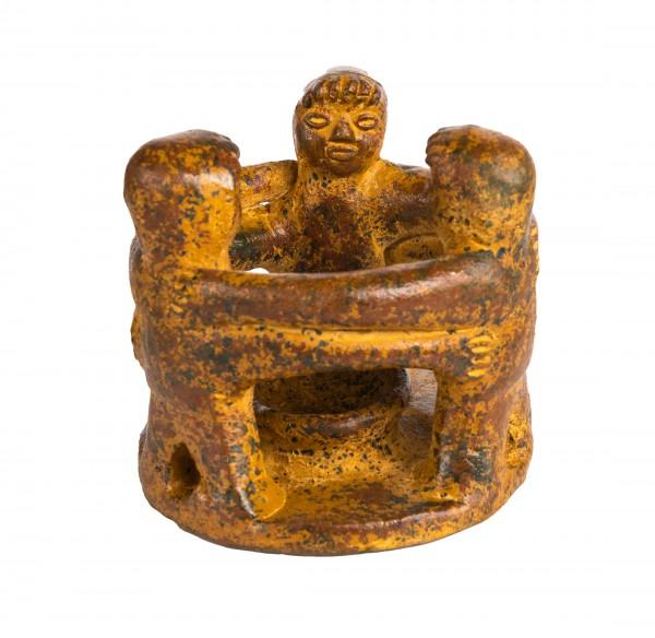 Friedenstanz 13cm, Keramik