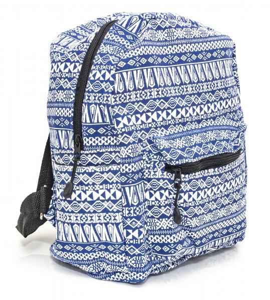 Mini Rucksack Blau