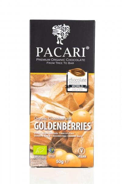 Pacari Bio Schokolade Physalis, 50g