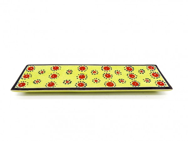 Räucherstäbchenhalter gelb