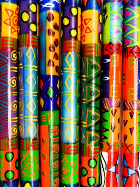 Stabkerze Multicolored, 23cm