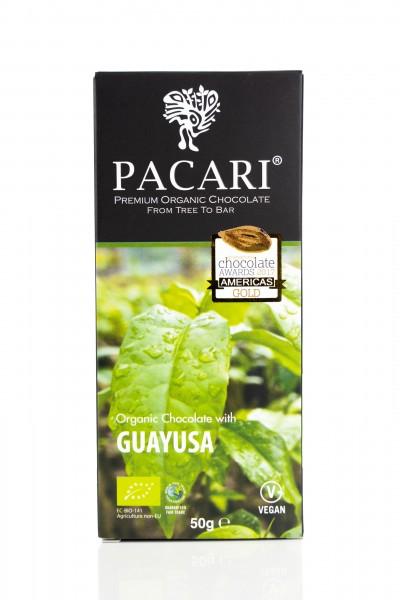 Pacari Bio Schokolade Guayusa, 50g