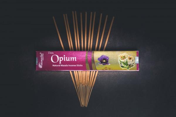 Aromatika vedische Räucherstäbchen, Opium