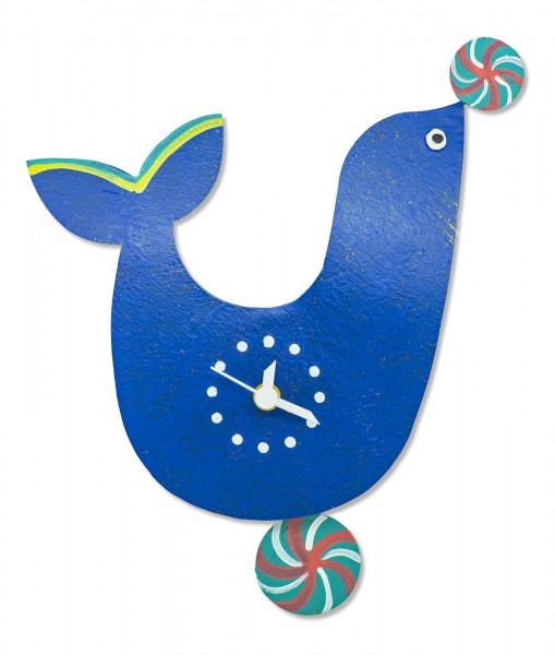 Pendeluhr Robbe blau