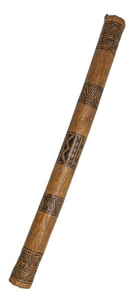 Regenmacher bemalt Bambus