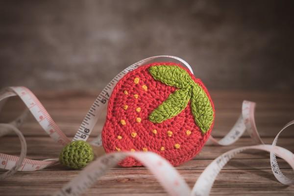 Maßband, Erdbeere