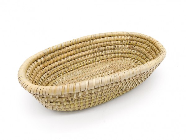 ovaler Flechtkorb aus Kaisa-Gras