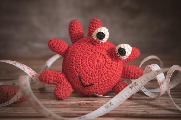 Maßband, Krabbe