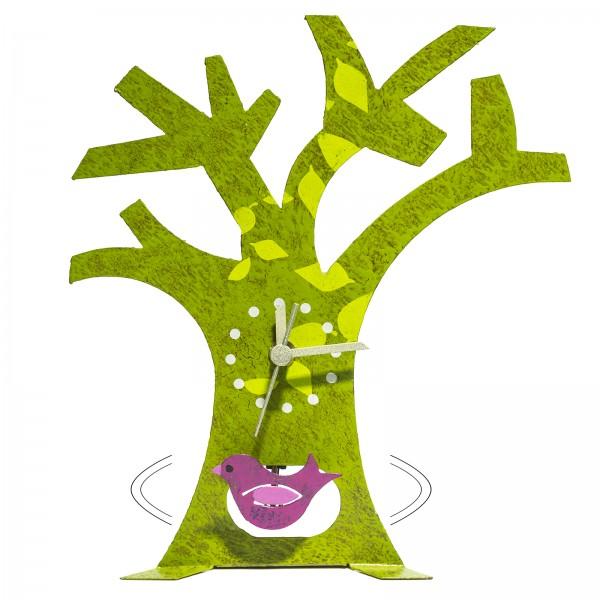 Oxidos Standuhr Baum grün
