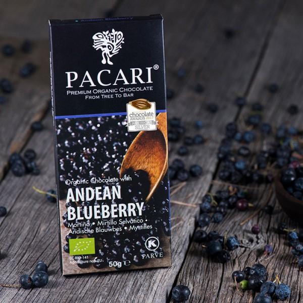 Pacari Andean Blueberry Schokolade