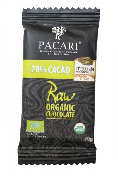 Pacari Roh Schokolade Raw Organic Mini