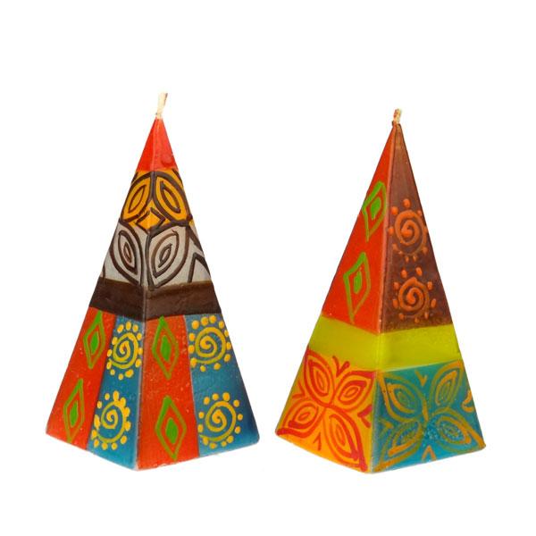 Pyramidenkerzen Kerzen Deko Geschenke Kailash Shop