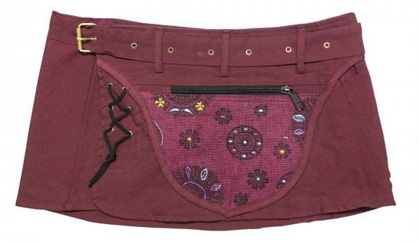 Goa Wickelrock rot mit Tasche
