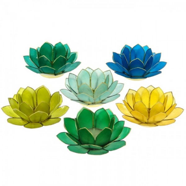 Teelichthalter Lotus mini