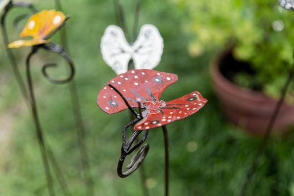Schmetterlinge auf Stange, 2er Set
