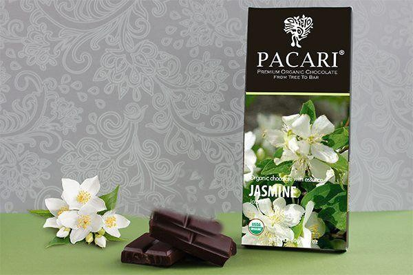 Pacari Bio Schokolade Jasmin, 50g