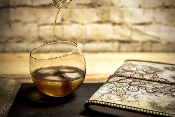 Whiskyschwenker, 400ml Rund