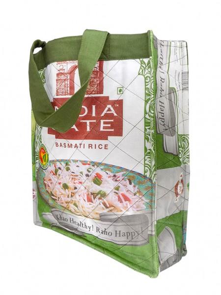 Einkaufstasche groß aus Reissäcken
